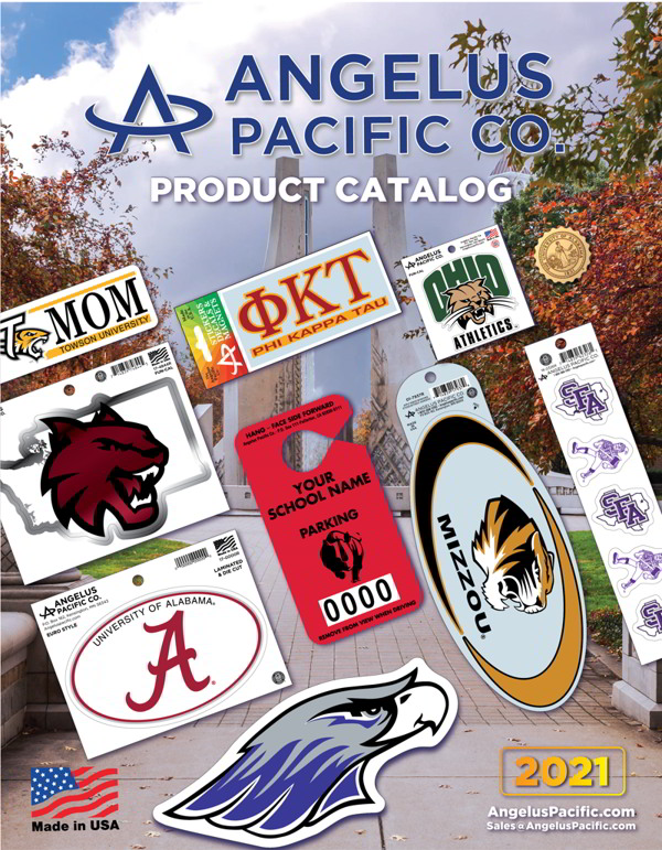 Angelus Pacific 2021 Product Catalog